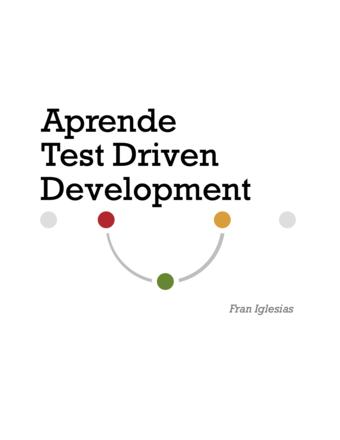 Aprende Test Driven Development