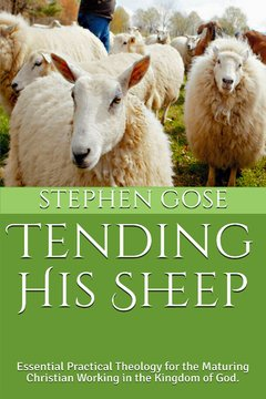 Tending His Sheep