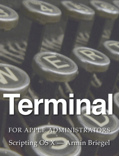 Terminal for Apple Administrators