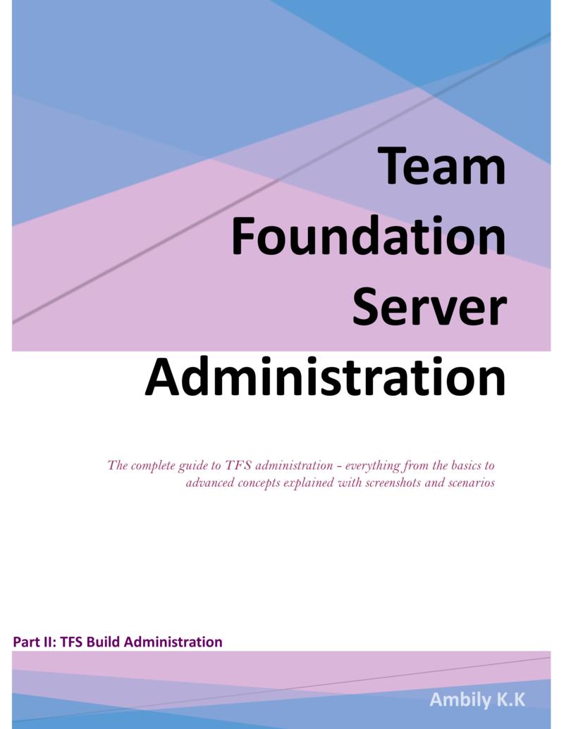 Team Foundation Server… by Ambily K K [Leanpub PDF/iPad/Kindle]