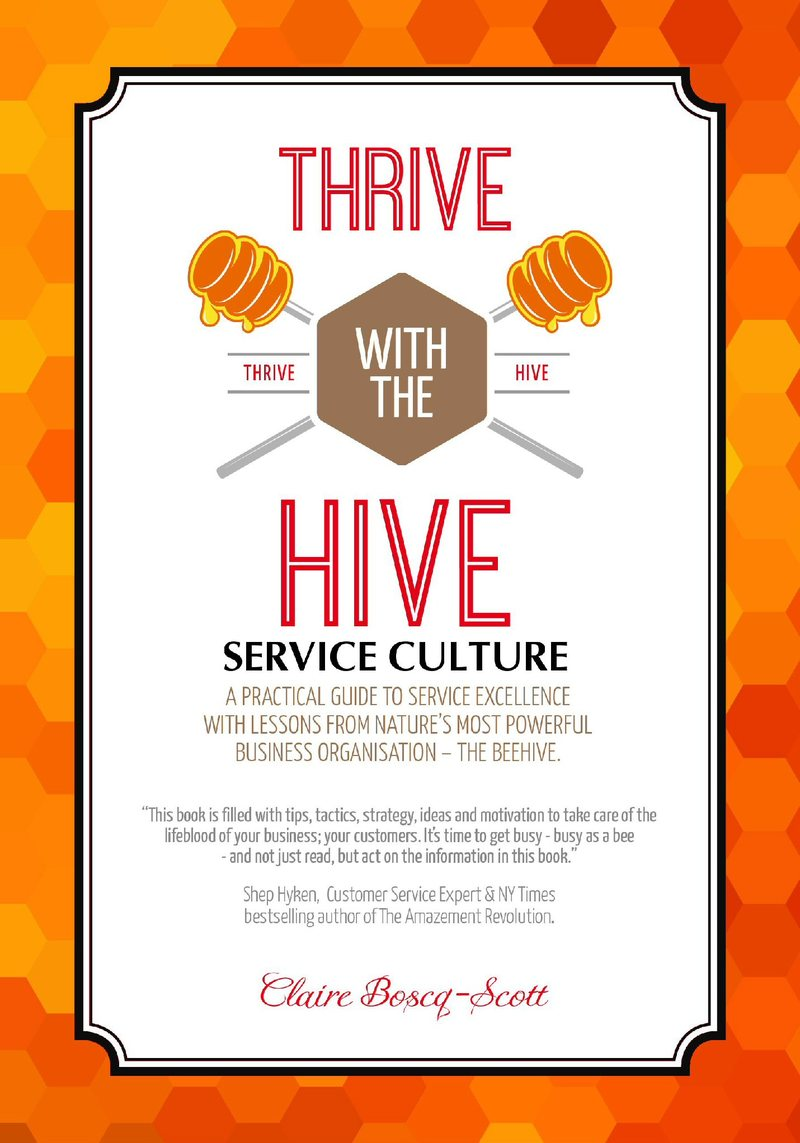 Thrive with the Hive… by Claire Boscq-Scott [PDF/iPad/Kindle]
