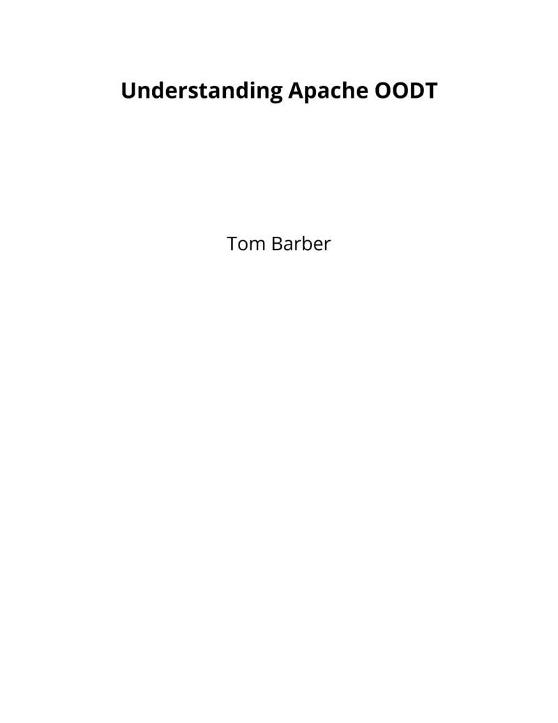 Understanding Apache OODT by Tom Barber [Leanpub PDF/iPad