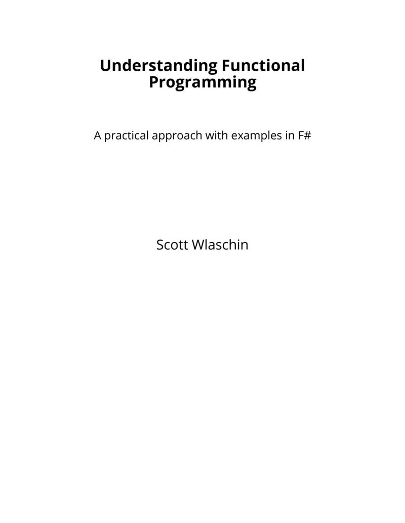 Functional Programming In Scala Ebook