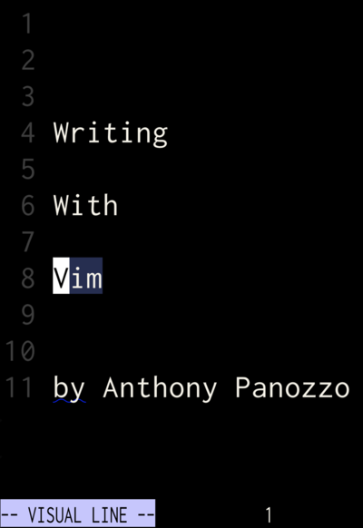 Writing With Vim