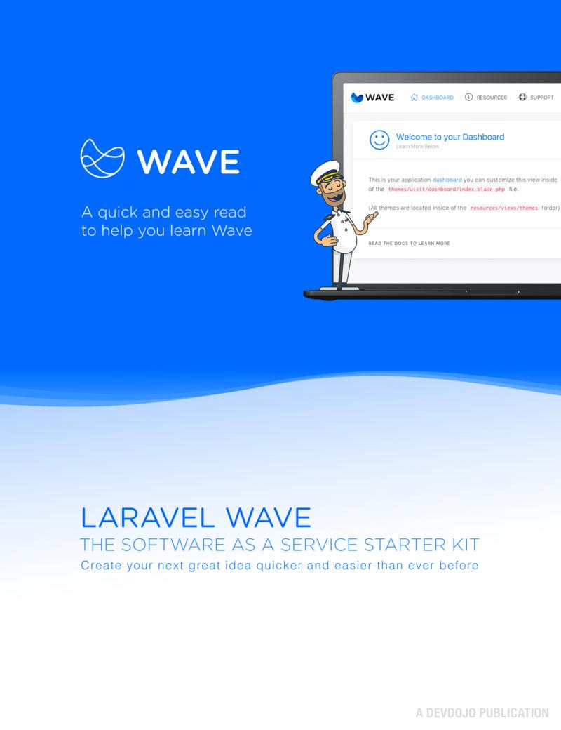 Laravel Wave by Tony Lea [Leanpub PDF/iPad/Kindle]