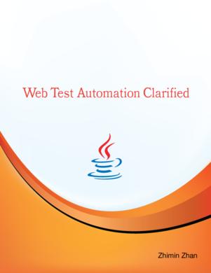 Web Test Automation Clarified