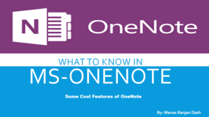 What to know in MS-ONENOTE
