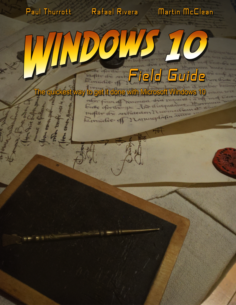 Windows 10 Field By Paul Thurrott Et Al Pdf Ipad Kindle