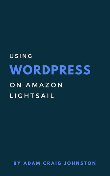Using WordPress on Amazon Lightsail