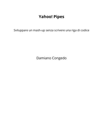 Yahoo! Pipes